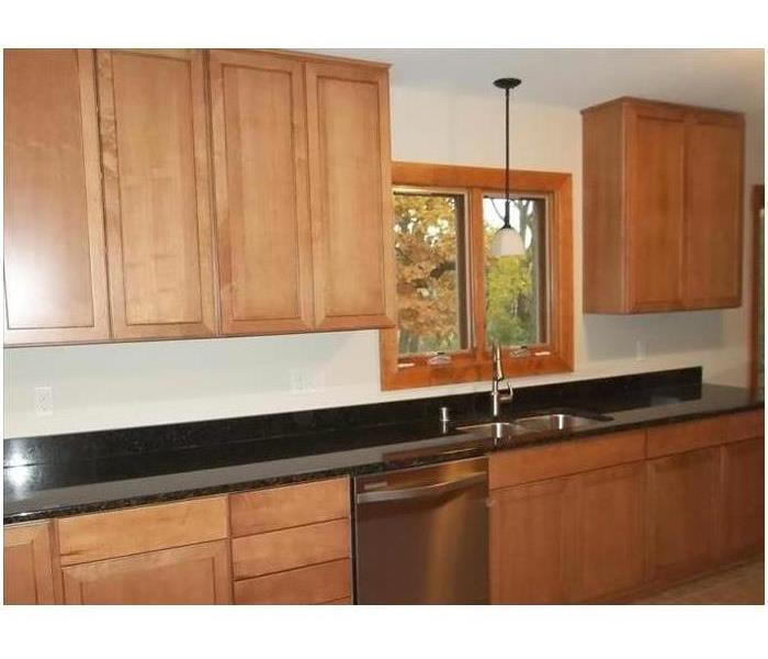 Remodeled Kitchen Cabinets After Clean up