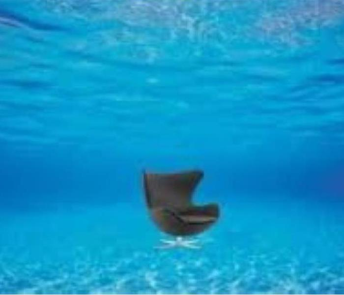 Office Chair Under Water