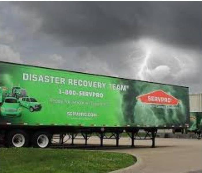 Disaster Recovery Semi Tractor Trailer